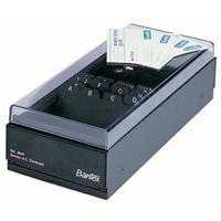 BANTEX 8649 BUSINESS CARD BOX ( 700 card capacity )