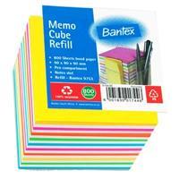 Bantex 9753 Cube Refill ( Rainbow or White )