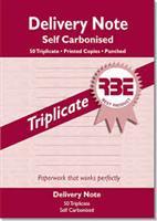 RBE A5 Delivery Book  Triplicate ref#F0058