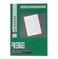 RBE A5 Invoice Book  Duplicate ref#F0072