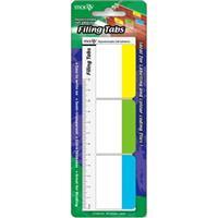 Filing Tab Flags ( 37 x 50mm )  Solid