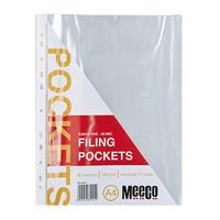 Standard Filing Pockets 40mic ( 10 or 100 per pack )