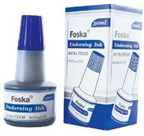 Stamp Pad Endorsing  Bottle Ink ( 30ml  )