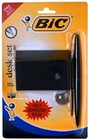BIC SOLO DELUXE SET  ( pen with chain )