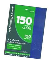 Binding Covers  Clear ( 100 per pack )