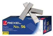 Rexel #56 Standard Staples ( 5000 per box )