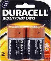 DURACEL D BATTERY  ( 2 per pack )