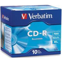 Verbatim CD-R  ( 10 per box ) Printable Surface