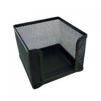 Mesh Desk Cube Paper Holder