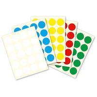 10mm Round Colour Code Labels  ( 700 aprox per box )