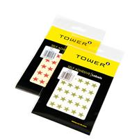 Tower Stars Labels ( 175 per pack )
