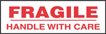 Fragile Handle with Care Packaging Label ( Aprox 250 per Roll )