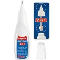 Tippex Shake & Choose Correction Pen & Foam Applicator 5ml